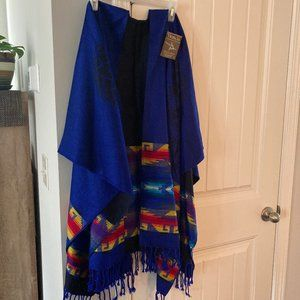 Jackets & Blazers - Beautifully Handwoven Poncho